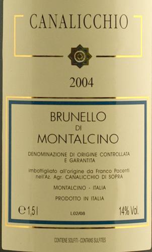 Pacenti Brunello di Montalcino 2004 Magnum-0