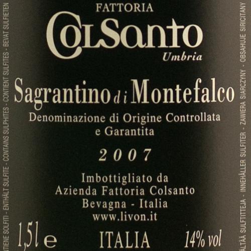 ColSanto Sagrantino di Montefalco 2007 Magnum-866