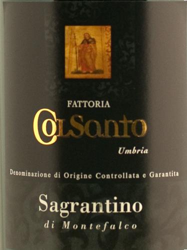 ColSanto Sagrantino di Montefalco 2007 Magnum-0