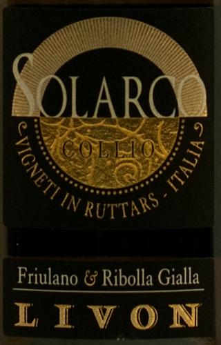 Livon Cru Solarco Collio Bianco 2009 Magnum-0
