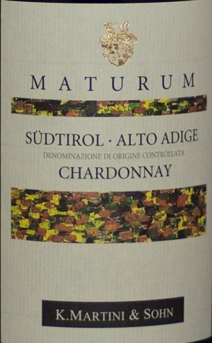 Martini Chardonnay Maturum 2008-0
