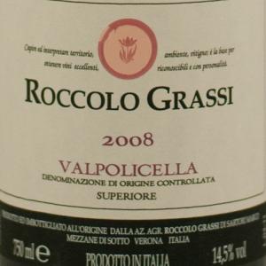 Roccolo Grassi Valpolicella Superiore 2008 Magnum-0