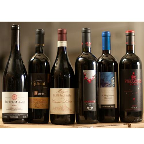 Mixdoos - Kennismaken met Italiaanse rode wijnen-0