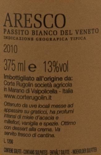Rugolin Vino Passito Aresco 2010 (37,5cl)-1590