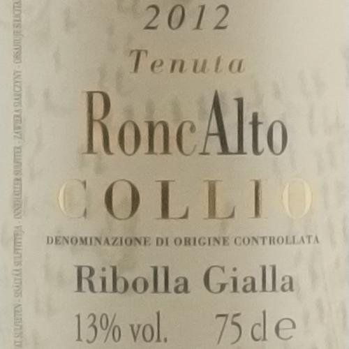 RoncAlto Ribolla Gialla 2012-1506