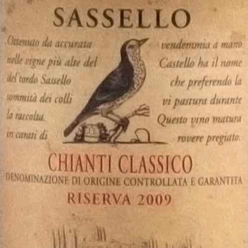 Verrazzano Chianti Classico Riserva Sassello 2009-1550