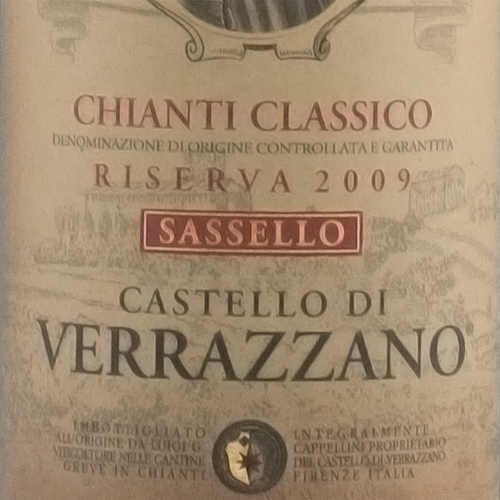 Verrazzano Chianti Classico Riserva Sassello 2009-0