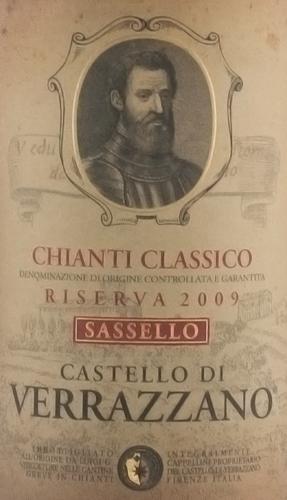 Verrazzano Chianti Classico Riserva Sassello 2009-1551