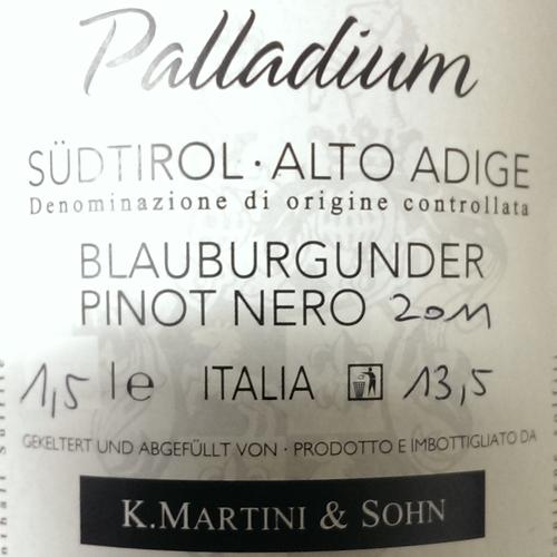 Martini Pinot Nero Riserva Palladium 2011 Magnum -1756