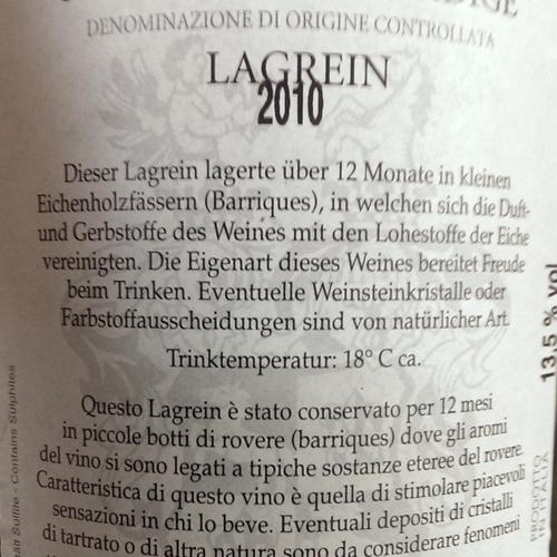 Martini Lagrein Riserva Maturum 2010 Magnum-1751