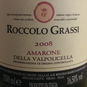 Roccolo Grassi Amarone 2008 Magnum-0