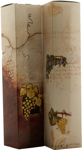 Geschenkdoos voor 1 fles - x-mas-1809