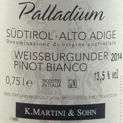 Martini Pinot Bianco Palladium