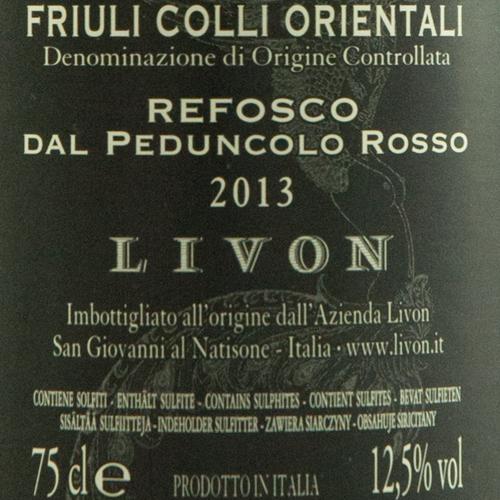 Livon Collio Refosco