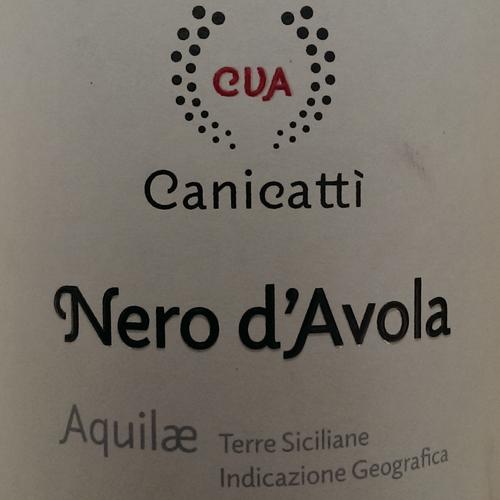 Canicatti Aquilae Bio Nero d'Avola 2014-2349