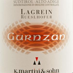 K. Martini & Sohn Gurnzan Lagrein