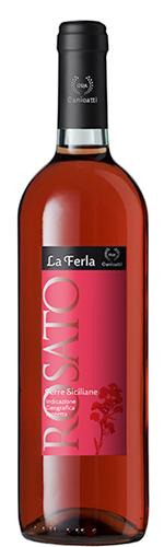 Canicatti La Ferla Rosato 2016 (Schroefdop)-2843