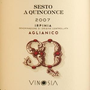 Vinosia Sesto a Quinconce Aglianico 2009-0