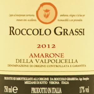 Roccolo Grassi Amarone