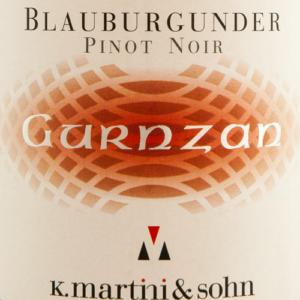 K. Martini & Sohn Gurnzan Pinot Nero