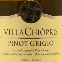 VillaChiopris Pinot Grigio 2018