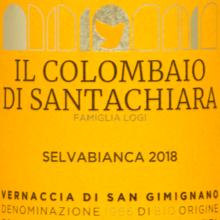 Colombaio Vernaccia di San Gimignano Selvabianca 2018